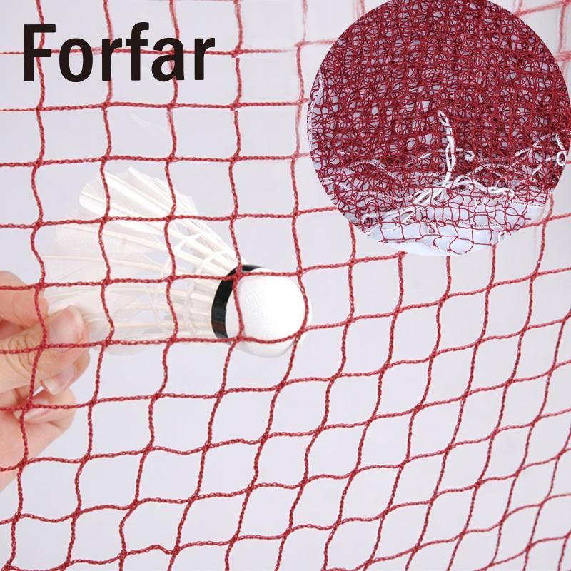 Forfar Professional Standard Outdoor Sport Competition Braided Badminton Nylon Regulation Net 6.1 X 0.76m Durable ...