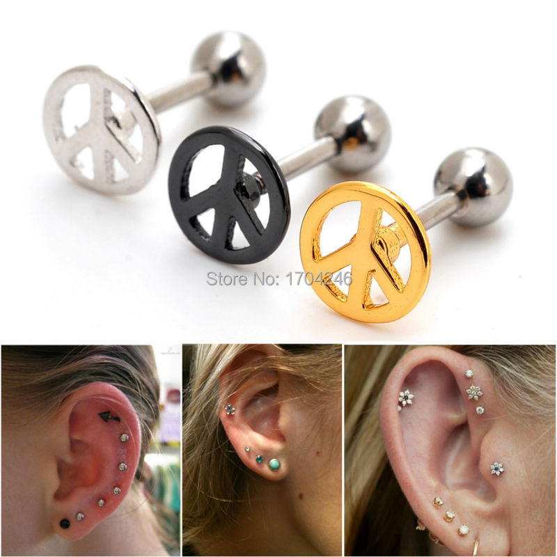 sign handmade rock nose stud your jewlery products grande peace