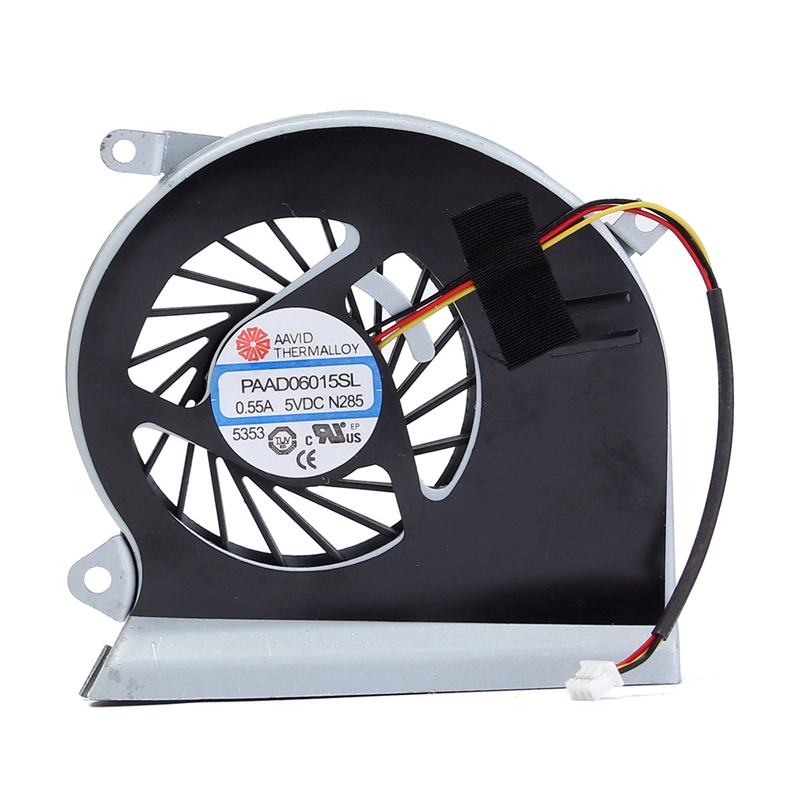 5V 0.55A CPU Computer Notebook Cooling Fan 3 Pins For MSI GE70 MS-1756 MS-1757 Laptop PAAD06015SL N285 New Cooler fan For MSI new free shipping pair fan laptop gpu and cpu cooling fan for msi gs60 paad06015sl 0 55a 5vdc n293