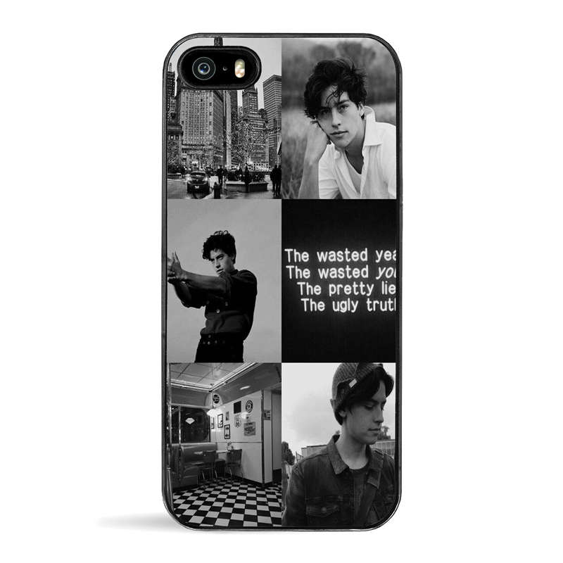 American TV Riverdale cell phone case personalised cover for iPhone X 6 7 8 plus 5 5s se 6s best quotes Hard plastic black