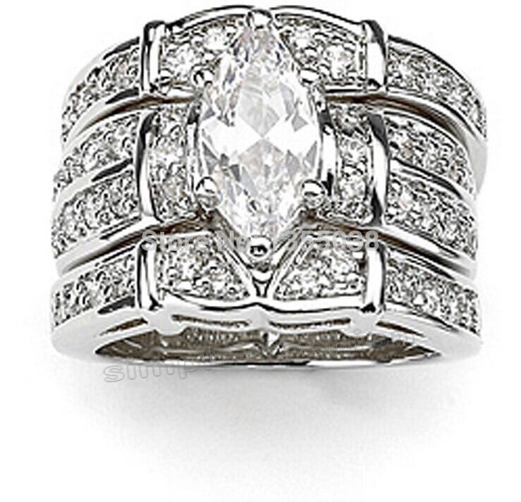 Online Get Cheap 3 Band Wedding Rings Sets -Aliexpress.com ...