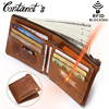 2017 New RFID Blocking Wallet For Men Geuine Leather Wallets And Purses Small Short Coin Pocekt