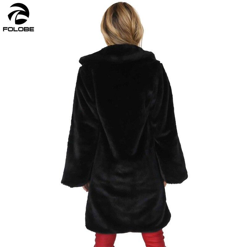Fahsion Streetwear Fourrure En Teddy Fausse Femmes Noir Folobe gris Plus camel Partie Manteau Chaud Lapin Taille Femelle Hiver Peluche Automne Pardessus La rose jaune d0tXtq