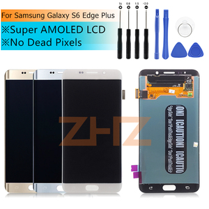 "Image 2 - עבור סמסונג גלקסי S6 קצה בתוספת G928 G928F LCD תצוגת מסך מגע עצרת עבור 5.7 ""SAMSUNG S6 קצה בתוספת LCD"