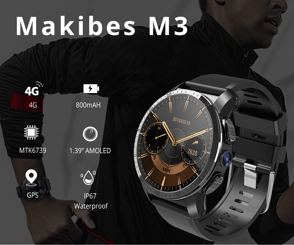 Makibes M3 4G Smart Watch 1
