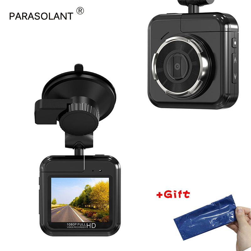 цена на PARASOLANT 170 Degree Wide Angle Driving Recorder Full HD 1080P Car Cam Mini Camera Dash Cam HDMI Interface Car Recorder LCD