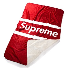 Comercio al por mayor de la Marca Suprema Sofá Manta Súper Suave Mantas de Lana de Cordero de Peluche Manta Lanza para el Sofá, 180*120 cm Envío Libre