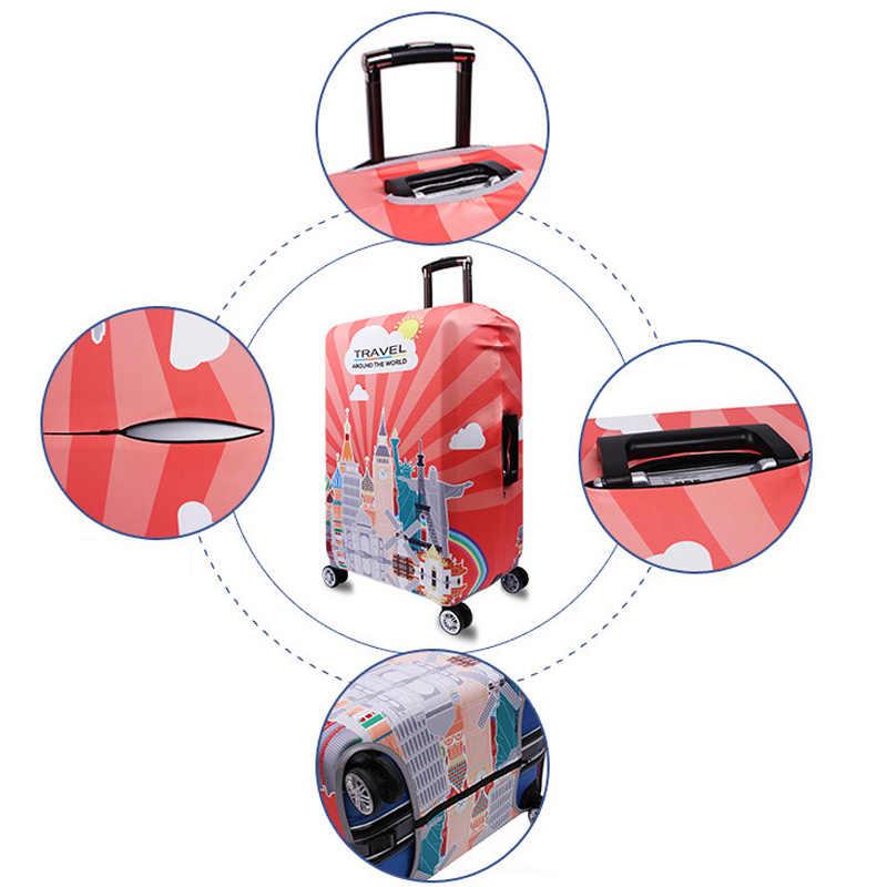 ร้อนยี่ห้อกระเป๋าการ์ตูนน่ารักกระเป๋าเดินทางยืดหยุ่นแฟชั่นอุปกรณ์เสริมFor18-32Inchรถเข็นEssentialของขวัญ