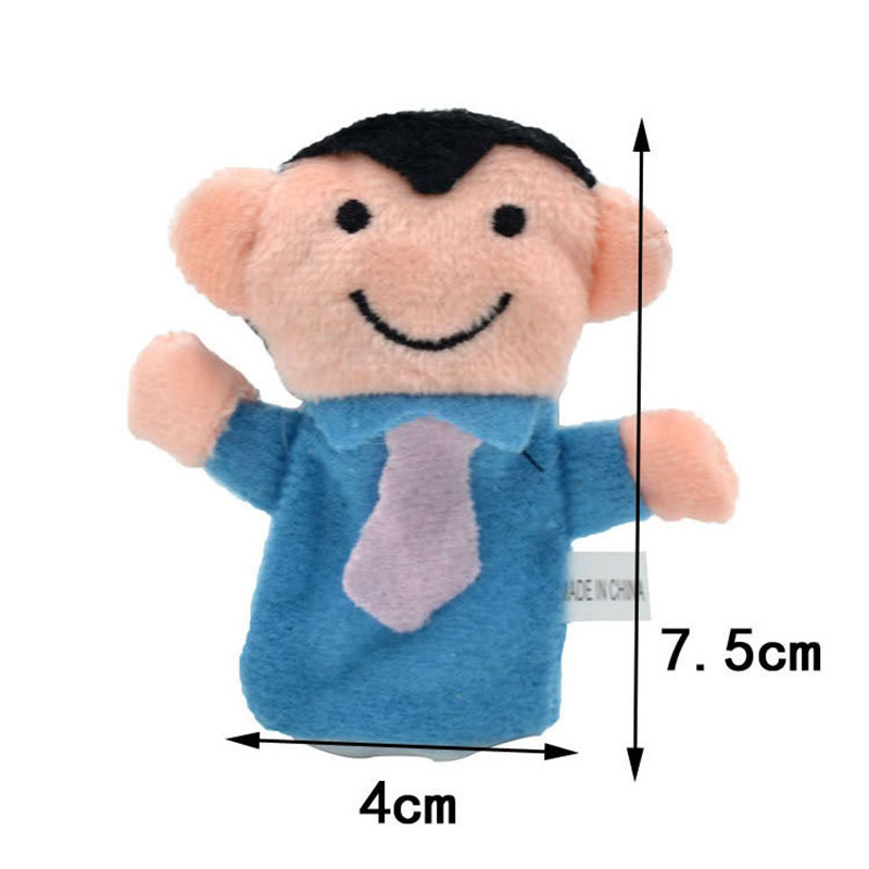Happy-Family-6pcslot-Family-Members-Finger-Puppets-Baby-Infant-Early-Educational-Plush-Toys-4