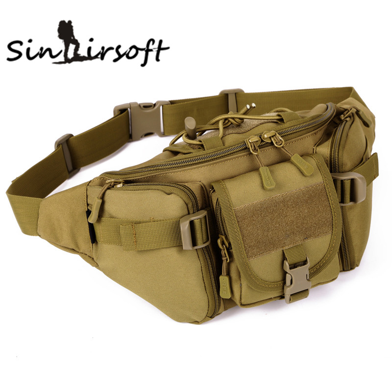2016 New Molle Hip Military Waist Bags Waterproof Mobile Money Phone Waist Bags Fanny Pack BELT