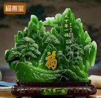 Blessing word furnishing resin creative Artware places model room adornment Decorative gifts Office furniture statue sculpture
