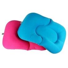 Детские Ванны Ванна Подушка Pad шезлонг Подушка плавающий мягкое сиденье новорожденных-slipt Ванны Подушка Аксессуары для ванной комнаты