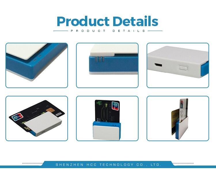 Bluetooth Smart-Payment Card Reader