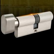 60/65/70 мм стандарт ЕС, двери для спальни, интерьер, безопасность, медный замок, цилиндр, ядро, мода