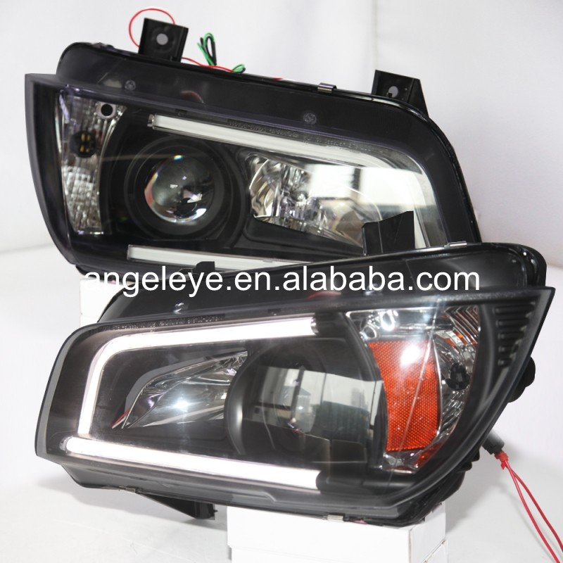 2010-2014 Year  For Dodge for Dodge charger LED strip  Head Lamp Headlights front light SN