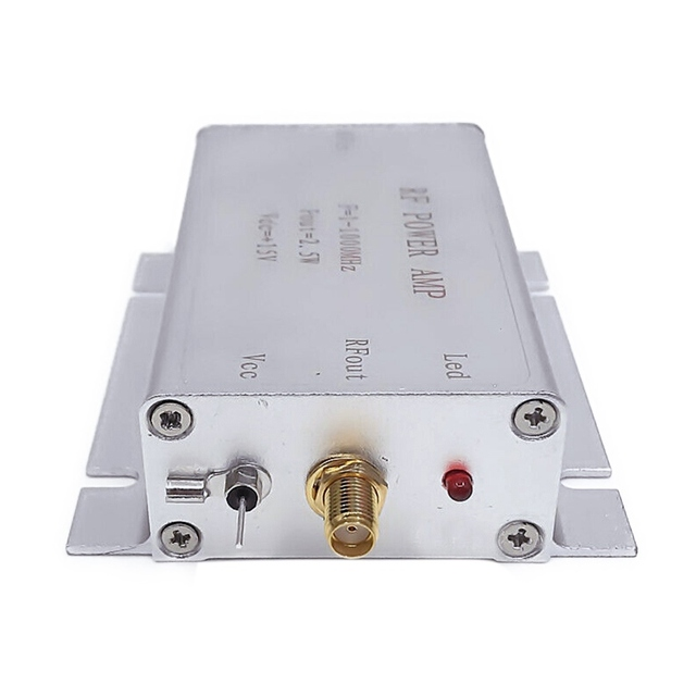 1-1000MHz 2.5W HF VHF UHF FM Transmitter RF Power Amplifier Practical Durable AMP For Ham Radio