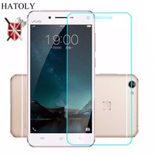 2PCS Screen Protector Film For Glass Vivo X6 9H 2.5 D Tempered Glass For Vivo X6  Glass Phone Film For BBk Vivo X6 5.2 inch x6