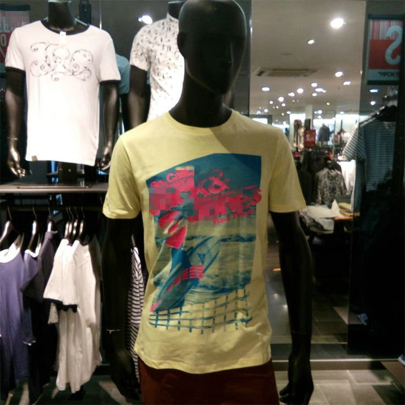 2017 New Summer Fashion Men T Shirt Boy Short Sleeve Cotton Printing Tees Shirts Casual T-Shirt Male Tops Clothes O-neck S-XXL men s casual short sleeve printing black t shirt