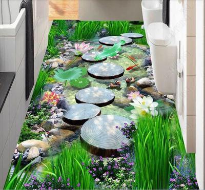 1000x3000mm 3D tapis créatif porte tapis plante tapis impression couloir tapis chambre salon thé Table tapis cuisine