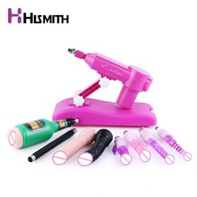 Hismith Water injection Automatic sex machine for women with 9 attachments retractable love machine CE ROHS adults sex toys