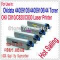 Сбросить тонер-картридж для OKI C810 C810N C810DN C810CDTN принтера  для Okidata OKI C810 C810N C810DN C810CDTN тонер Rfill Kit