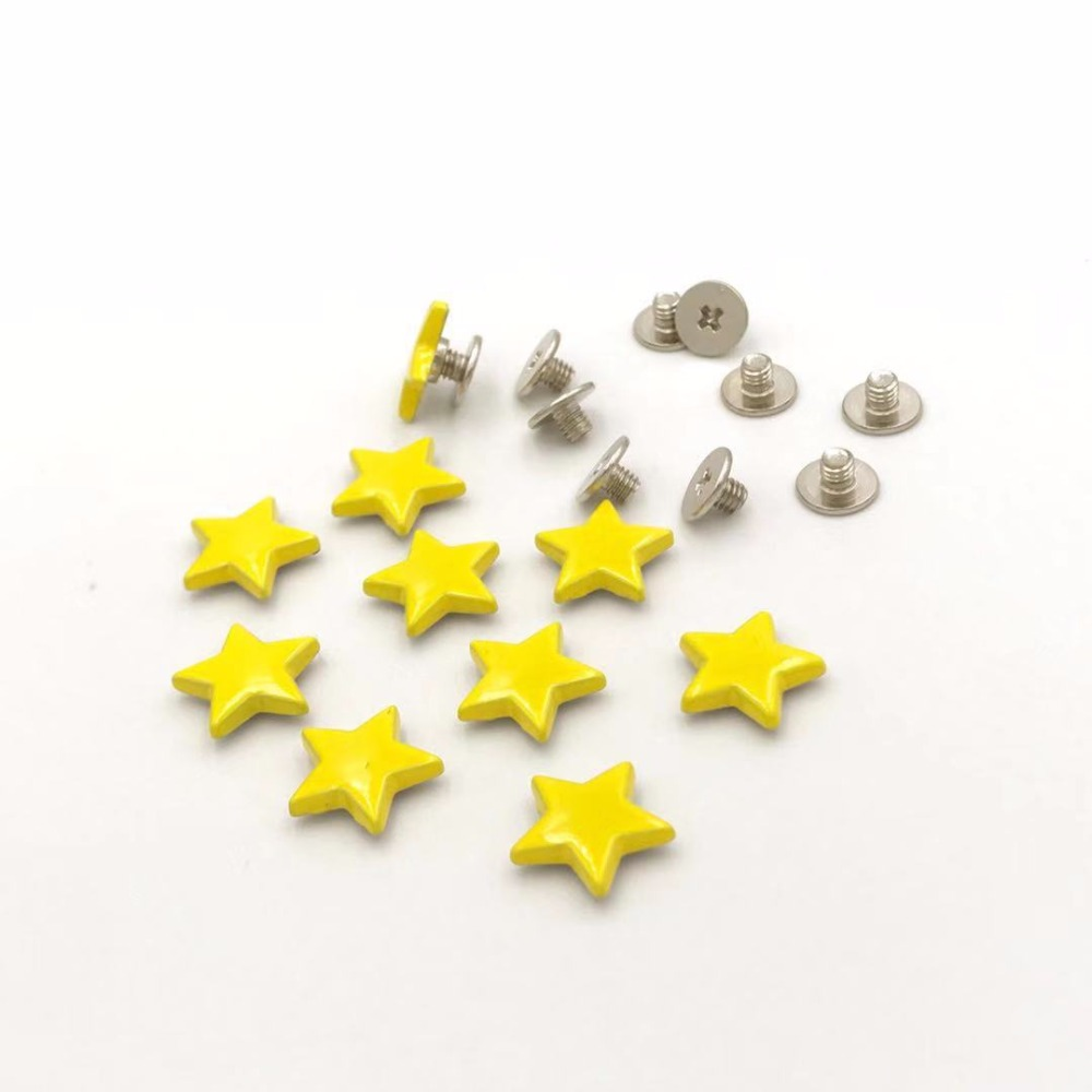 Energetic Solid Brass Arc Button Stud Screw Nail Rivet Back Belt For Sewing Handmade Diy Leather Accessories Material 4 6 8 10 12 15mm Home & Garden Arts,crafts & Sewing
