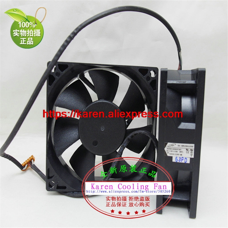 New Original ADDA AD08012HB257301 80*80*25MM Projector cooling fan One Set (2 Pices)