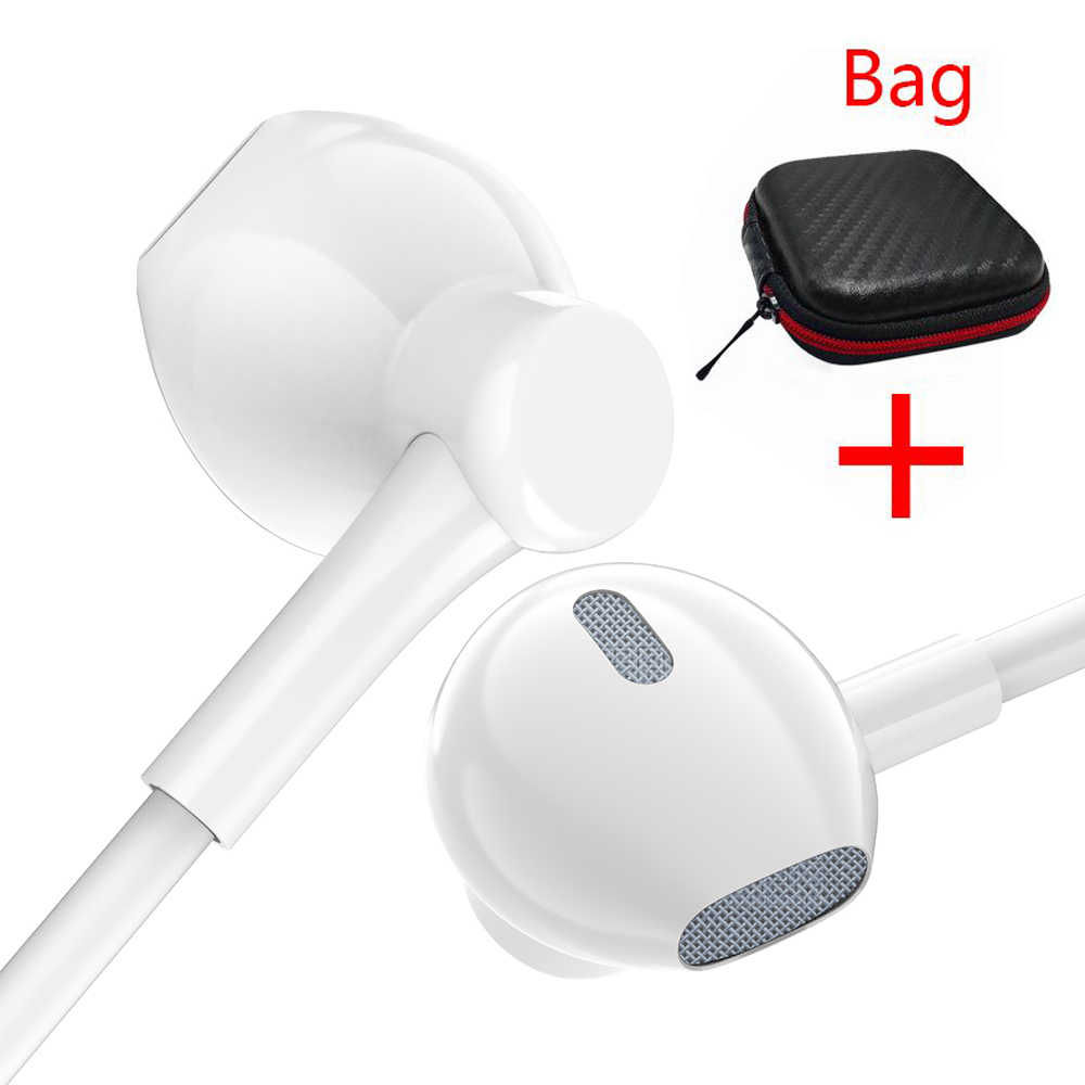 PTM PD7 Earphone Headphone Super Bass Musik DJ Sport Gaming Headset untuk Ponsel iPhone Xiaomi Samsung Huawei Fone De Ouvido MP3