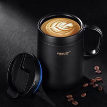 Hot Sale Pinkah Coffee Thermo Mug 350ml 460ml Office Vacuum Flasks Home Thermos Cup With Handle Insulated Mug Thermos As Gift