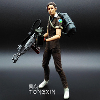 Alien Vs Predator 7 Inch Amanda Isolation Model Action Figure Toy Hand to Do H19