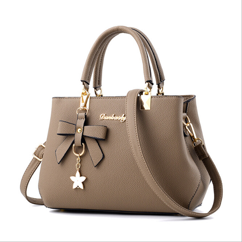 New Fashion PU Leather Women Messenger Bags Luxury Handbags Women Bags Designer With Bow Crossbody Bag Clutch Shoulder Tote Bag famous brand new 2017 women clutch bags messenger bag pu leather crossbody bags for women s shoulder bag handbags free shipping