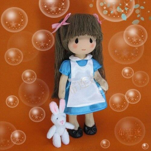 Matériel de bricolage définit poupée à la main en peluche jouet Alice-poupée poupée faisant la poupée