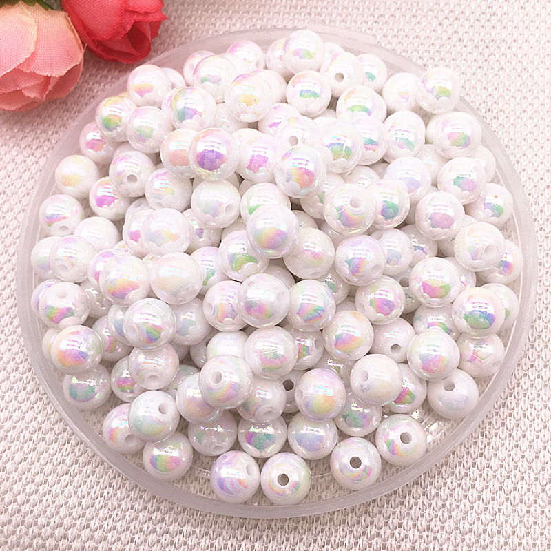 20pcs big vintage silver berry acrylic beads 20mm by 1st class
