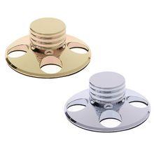 오디오 LP 비닐 턴테이블 금속 디스크 안정제 레코드 플레이어 무게 클램프 HiFi