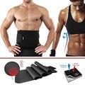 Waist Trimmer Belt Weight Loss Sweat Band Wrap Fat Burner Tummy Stomach Sauna Weight Loss Tool #88255