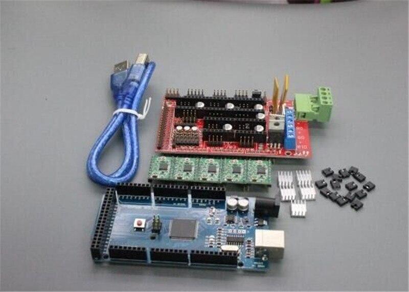 ФОТО 3d printer kit 3d 12864 screen ramps 1.4 4988 2560r 3