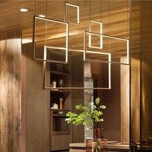 LED Postmodern Iron Aluminum Acrylic LED Lamp LED Light Pendant Lights Pendant Lamp LED Pendant Light For Foyer Dinning Room