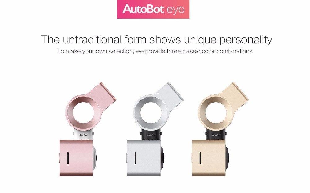 Autobot olho dashcam inteligente carro dvr câmera novatek96655 sony imx322 1080 p 150 graus wifi wdr visão noturna estacionamento modo tiro - 4
