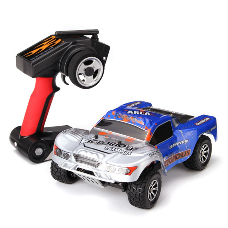 WLtoys A969-B 1/18 4WD High Speed RC Racing Car Short Course 2.4G 70km/h 390 Brushed Motor wltoys a959 b 13 540 motor 1 18 a959 b a969 b a979 b rc car part