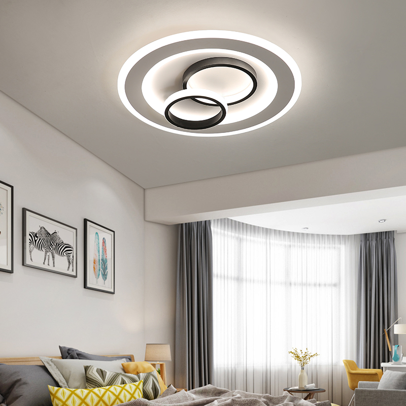 Modern nordic deco minimalist ceiling light creative LED light for living room bedroom study room aisle office indoor lights e27 in Ceiling Lights from Lights Lighting