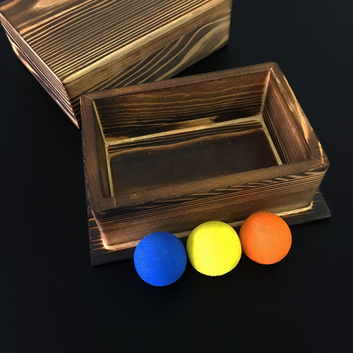 Nouvelles arrivées balles dans la boîte (Deluxe) de Lu Chen, Gimmick, scène Illusions de magie accessoires magiques partie spectacle de magie, tours de magie créatifs