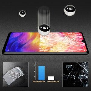 Image 4 - Cristal Protector de pantalla para Xiaomi, Protector de vidrio templado con pegamento completo para Xiaomi Mi 9 SE 9T CC9 CC9E A3 Lite 7 7A K20 Note 7 Pro