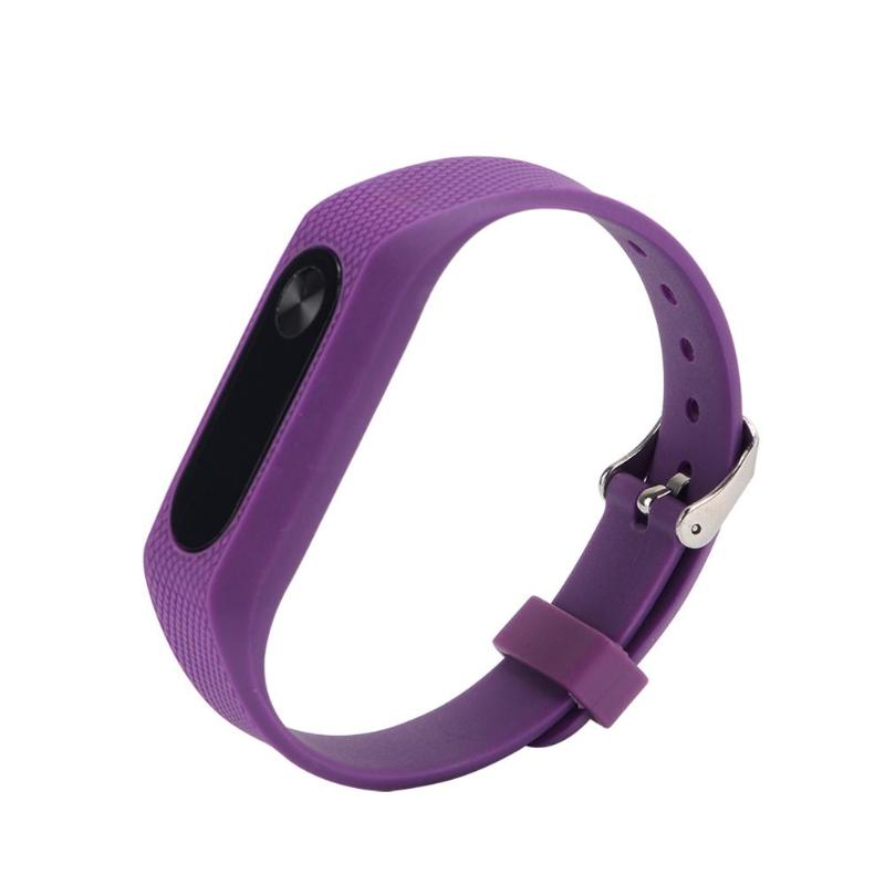 Silicone Bracelet Watch Strap For Miband 2 Strap Wristband