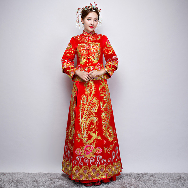 style dress Asian wedding