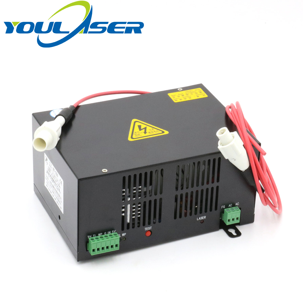 60W CO2 Laser Power Supply for CO2 Laser Engraving Cutting Machine HY-T60 co2 laser machine laser path size 1200 600mm 1200 800mm
