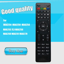 Replacement TV Box Remote Control For MAG254 MAG250 MAG254 MAG255 7L3 MAG256 MAG260 MAG261 MAG270(China)
