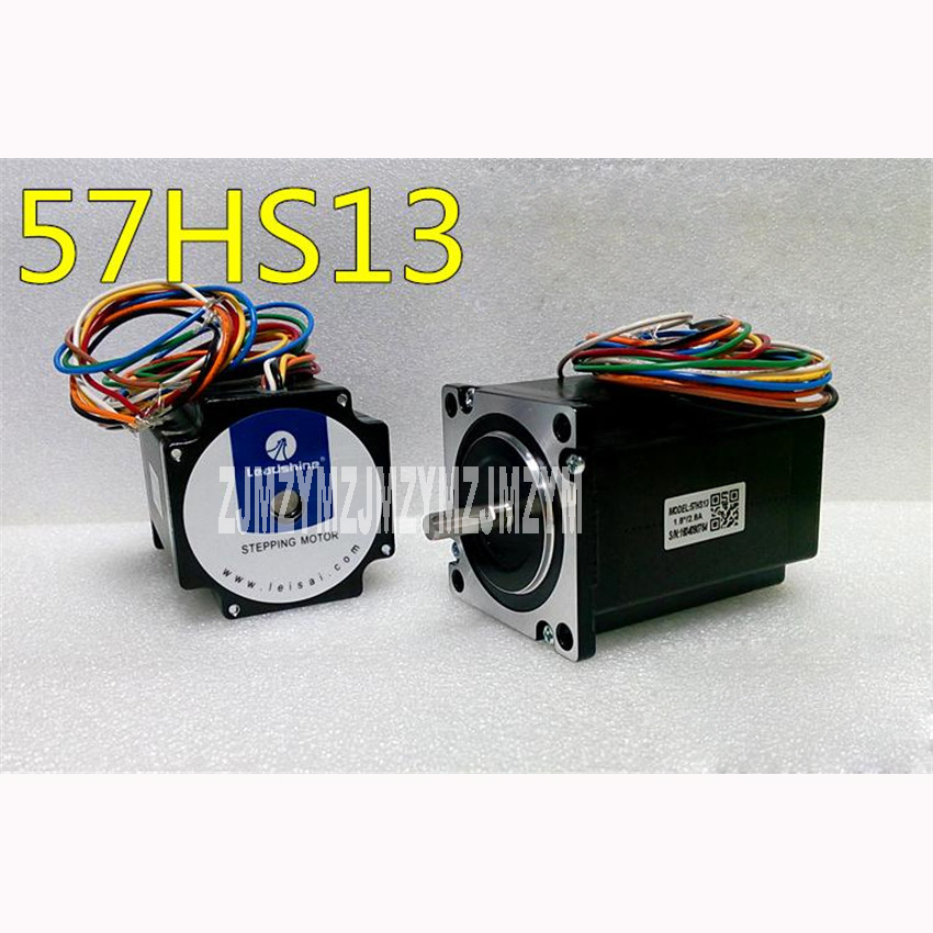 57 series two phase stepper motor 57HS13  / 1.3N.M  ,Insulation resistance 100 megohms min, 500VDC Radial runout 0.06Max