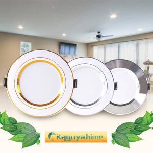 Downlight 3W Recessed-Led-Spot-Lighting Spot Led Gold Round Silver White Aluminum Ultra-Thin