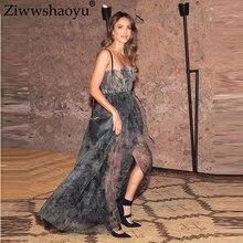 драпировка платье ремень Ziwwshaoyu