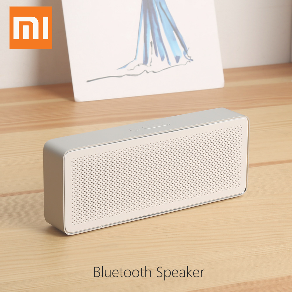 Original Xiaomi Bluetooth 4 2 Portable Speaker Hands free with Microphone Support AUX in Story Teller